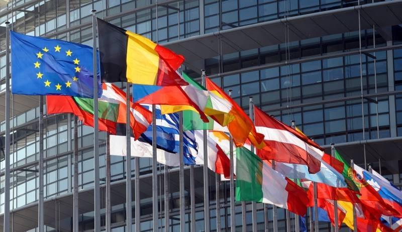 national flags EU