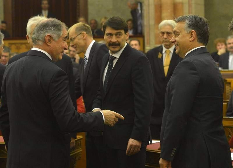 Lenkovics Barnabás, Áder János, Orbán Viktor