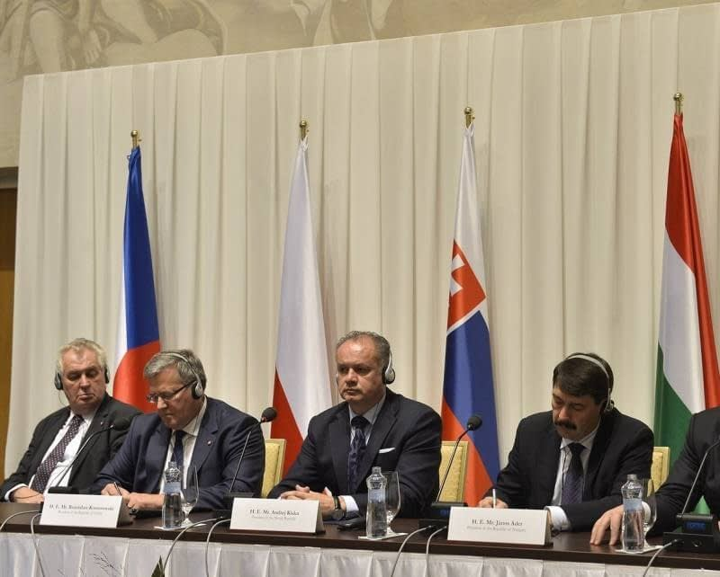 presidents of the visegrad group